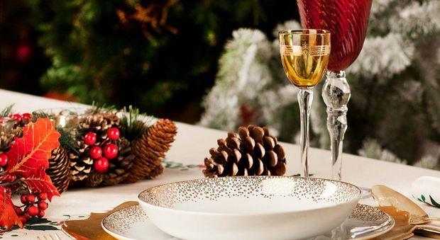 Natale con Reggia e Gambero Rosso Quando i piatti diventano opere d'arte